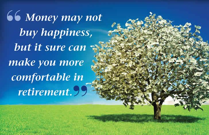 get money for retirement